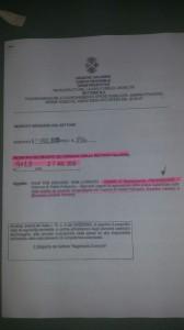 Il decreto provvisorio della Regione per gli interventi sulle frane nel comune di Petilia Policastro