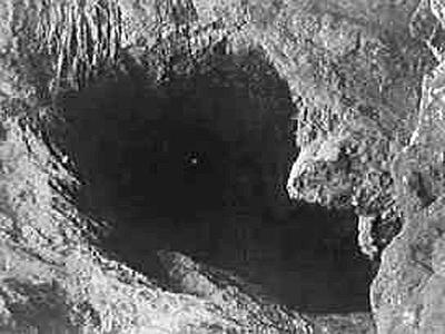La cavità di una foiba