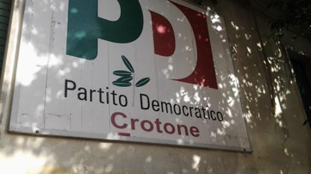 Chiusura Sede PD Crotone: Pepè Corigliano Presidente della Fondazione Berlinguer di Crotone chiarisce