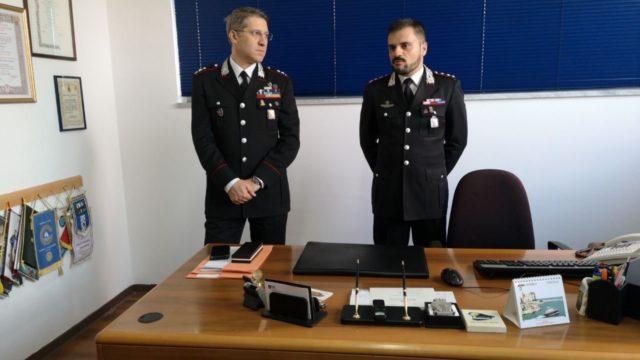 Il nuovo Comandante della Compagnia Carabinieri di Crotone Francesco Esposito incontra la stampa