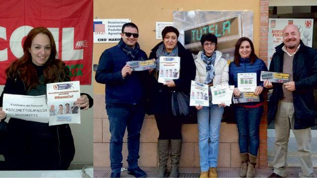 """Cgil Cirò Marina (KR): """"Auguri di buon lavoro al Segretario Raffaele Mammoliti"""""""