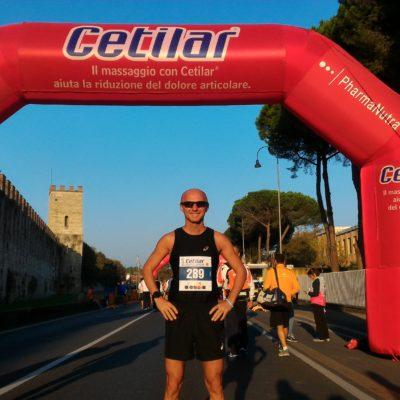 Ottima prestazione per Antonio Carvelli alla XII°Pisa Half Marathon