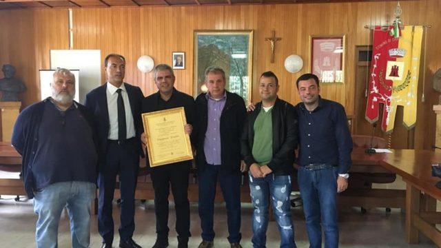 Conferita la Cittadinanza Onoraria di Oppido Mamertina a Ruggero Pegna