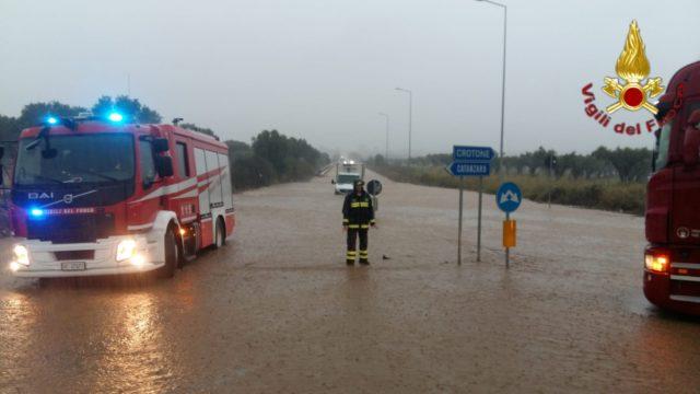 Maltempo:pioggia e allagamenti in Calabria, nessuna criticità
