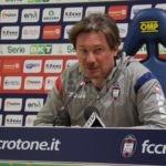 """Crotone-Pescara, Stroppa: """"Dipende solo e tutto da noi, soltanto ed esclusivamente da noi"""""""
