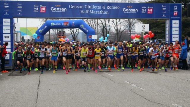 Due atleti della Scuola Atletica Krotoniate alla 12^ Giulietta e Romeo Half Marathon di Verona
