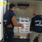 """Crotone, sequestrati dalla Guardia di Finanza oltre 5 quintali di """"bianchetto"""""""
