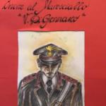"""""""Onore al maresciallo V. Di Gennaro"""", il dono della scuola media di San Nicola da Crissa (VV) ai Carabinieri"""