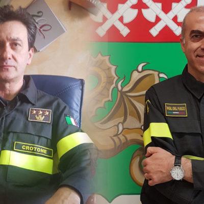 Cambio al vertice del Comando provinciale dei Vigili del Fuoco di Crotone