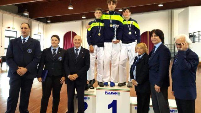 Gli allievi dell'Asd Martial Kroton Ryu  conquistano il pass per le finali nazionali del Campionato Italiano Kumite