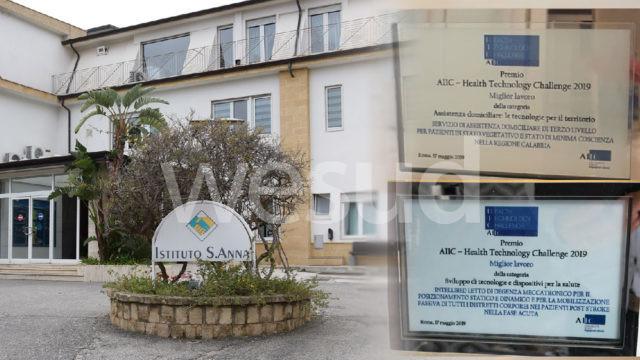 Crotone, Istituto Sant'Anna: riconoscimenti per Oberon, Intellibed e Aramis al convegno nazionale Aiic