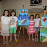Cutro (KR): l'arte e  la creatività dei piccoli allievi dell'artista Monica Arabia