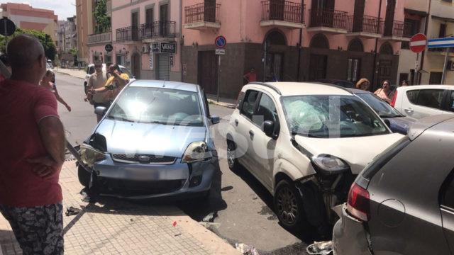 Crotone, incidente in via Scalfaro
