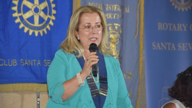 Caterina Affilistro è il nuovo presidente del Rotary Club di Santa Severina