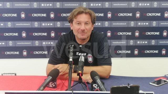 """Crotone Calcio, Stroppa: """"È una partita importante, giochiamo per vincere"""""""