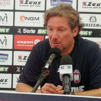 """Cittadella- Crotone, Stroppa: """"Incontriamo una big ma siamo concentrati a fare risultato"""""""
