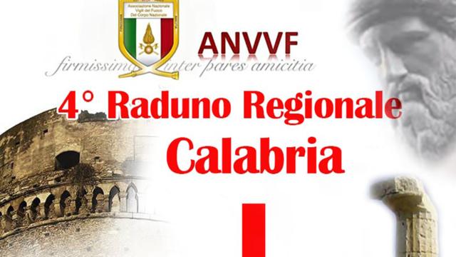 A Crotone dal 20 al 22 settembre il IV Raduno Regionale dei Vigili del Fuoco