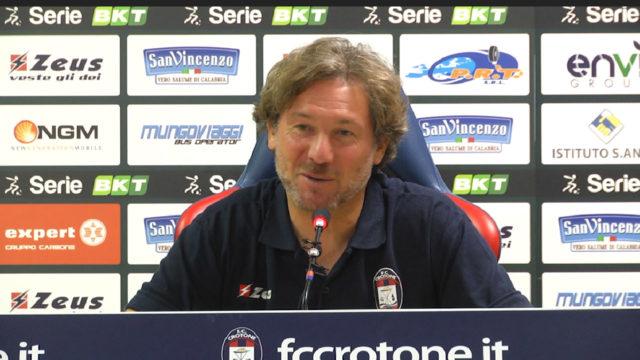 """Crotone – Pordenone, Stroppa: """"E' una partita piena di insidie, sarà veramente importante avere l'attenzione giusta"""""""