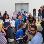 Pranzo sul piazzale dell'ipermercato per i dipendenti del Carrefour di Crotone, tanta solidarietà dal territorio