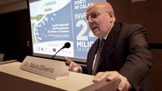 """Seminario portualità, Mario Oliverio: """"24 milioni di euro per i porti calabresi"""""""