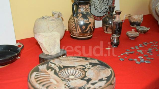 Crotone, traffico illecito di Beni Archeologici: 23 arresti e 80 perquisizioni in Italia e all'estero