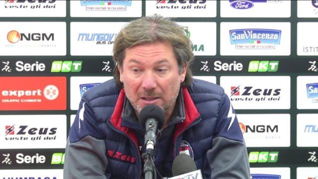 """Salernitana – Crotone, Stroppa: """"Dobbiamo fare risultato e dare di più"""""""