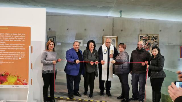 """Crotone,  inaugurata la Mostra """"Santi della porta accanto"""" presso il Museo di Pitagora"""