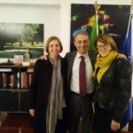 Bonifica, Barbuto e Corrado (M5S) incontrano il Ministro Sergio Costa