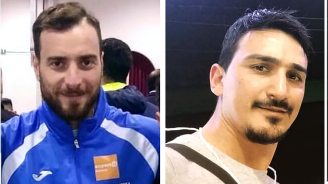 I tecnici Fabio Greco ed Angelo Arditi dell'ASD Accademia Karate Crotone al Corso per Educatore Sportivo Scolastico