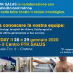 Lilt Crotone e Fkt Salus insieme nella lotta contro il dolore oncologico