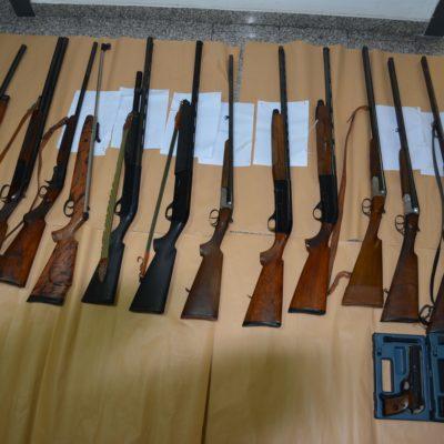 """Operazione """"EYFHÉMOS"""":Tre arresti in flagranza di reato per detenzione di armi clandestine, sequestro di denaro contante e provvedimenti amministrativi di sequestro di armi"""