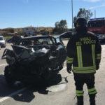 Crotone, incidente sulla S.S 106 in località Gabella: morto uno dei tre feriti