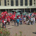 """""""Emergenza Sanità Calabria"""": sit-in dei sindacati in Regione"""