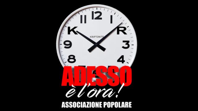 """È nata a Crotone l'associazione politico culturale popolare """"Adesso è l'ora"""""""