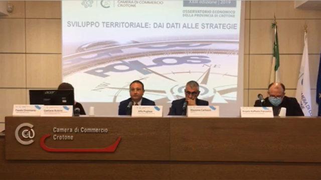Presentato alla Camera di Commercio di Crotone la XXIII edizione Osservatorio economico provinciale POLOS