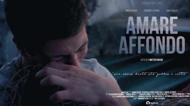 Amare affondo, il cortometraggio del regista crotonese Matteo Russo, da martedì 14 luglio disponibile su tutti i canali di Rai Cinema Channel
