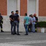 Crotone, sospetto zainetto -bomba davanti al palazzo del Comune