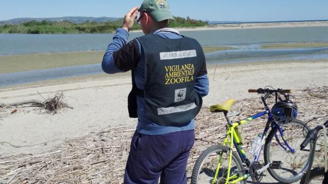 Crotone, al via la vigilanza ambientale in bicicletta delle Guardie Giurate WWF