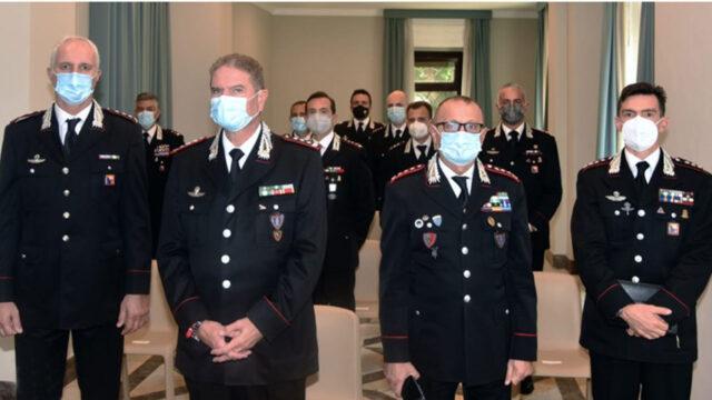 Saluto di benvenuto del Generale Cavallo ai nuovi ufficiali di Sicilia e Calabria