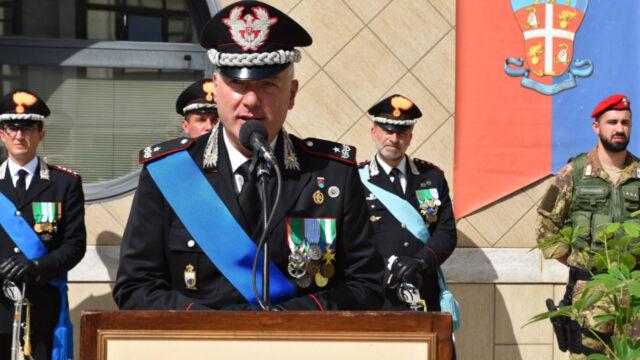 Cambio al vertice della Legione Carabinieri Calabria