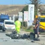 Crotone, scontro auto-moto lungo la SS 106 a Poggio Pudano:  grave un 31enne